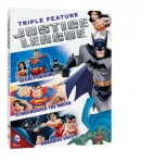 Justice League triple feature [DVD]