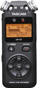 Digital audio recorder [learning tool]