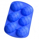 Easter egg shaped silicone bakeware [mold]