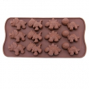 Dinosaur chocolate candy mold or ice tray [mold]