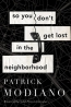 So You Don't Get Lost In The Neighborhood : A Novel