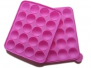 Cake pop 20-cavity silicone mold [mold]