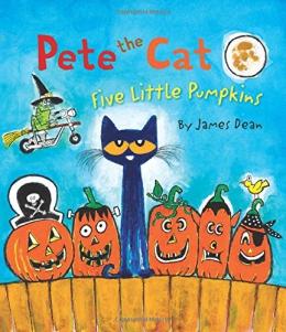 Pete The Cat. Five Little Pumpkins