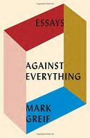 Against everything : essays