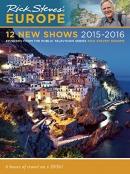Rick Steves Europe: 12 New Shows DVD 2015-2016