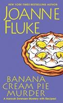 Banana cream pie murder [large print]