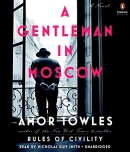 A Gentleman in Moscow [CD book]