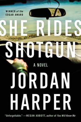 She Rides Shotgun [CD Book] : A Novel