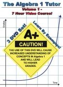 The Algebra 1 Tutor: Volume 1