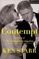 Contempt: A Memoir of the Clinton Investigation