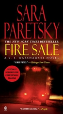 Fire sale [Playaway] : a V.I. Warshawski novel