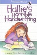 Hallie's horrible handwriting