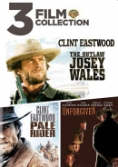 3 film collection [DVD] : the outlaw Josey Wales ; Pale rider ; Unforgiven.