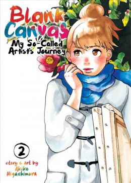 Blank Canvas : My So-called Artist's Journey. Book 2