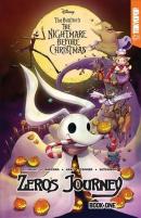 Tim Burton's nightmare before Christmas. Zero's journey. Book one