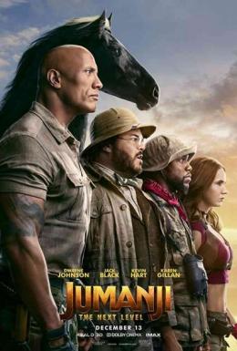 Jumanji [DVD] : The Next Level
