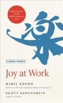 Joy at work [large print] : organizing your professional life