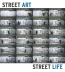 Street Art, Street Life : From The 1950s To Now