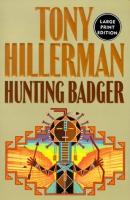 Hunting badger [large print]