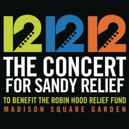 12-12-12 [music CD] : The Concert For Sandy Relief